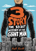 Image: 3 Story: The Secret History of the Giant Man SC  - Dark Horse Comics