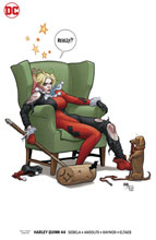 Image: Harley Quinn #44 (variant cover - Frank Cho) - DC Comics