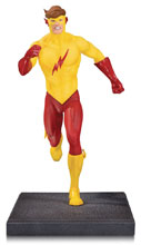 Image: New Teen Titans Multi-Part Statue: Kid Flash  - DC Comics