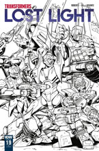 Image: Transformers: Lost Light #19 (incentive cover - Nick Roche) (10-copy) - IDW Publishing