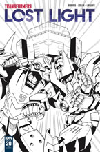 Image: Transformers: Lost Light #20 (incentive cover - Jack Lawrence) (10-copy) - IDW Publishing