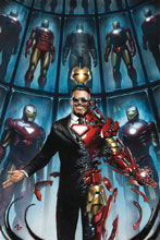 Image: Tony Stark: Iron Man #1 (variant cover - Granov) - Marvel Comics