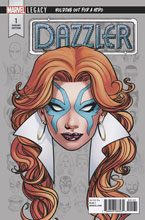 Image: Dazzler X Song #1 (variant Headshot cover - McKone)  [2018] - Marvel Comics