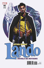 Image: Star Wars: Lando - Double or Nothing #2 (variant cover - Stewart)  [2018] - Marvel Comics