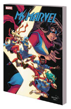 Image: Ms. Marvel Vol. 09: Teenage Wasteland SC  - Marvel Comics