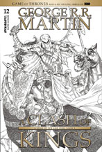 Image: George R. R. Martin's A Clash of Kings #12 (cover C incentive - Miller B&W) (10-copy) - Dynamite
