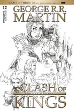 Image: George R. R. Martin's A Clash of Kings #12 (cover D incentive - Rubi B&W) (15-copy) - Dynamite
