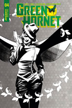 Image: Green Hornet Vol. 02 #4 (cover C incentive - McKone B&W) (10-copy)  [2018] - Dynamite