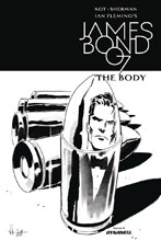 Image: James Bond: The Body #6 (cover B incentive - Casalanguida B&W) (10-copy)  [2018] - Dynamite