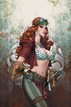Image: Legenderry Red Sonja Vol. 02 #5 (cover C incentive - Benitez virgin) (20-copy) - Dynamite
