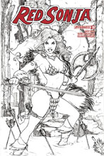 Image: Red Sonja Vol. 04 #18 (cover H incentive - Tucci B&W) (30-copy)  [2018] - Dynamite