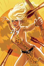 Image: Sheena: Queen of the Jungle #10 (cover G incentive - Galindo virgin art) (25-copy) - Dynamite