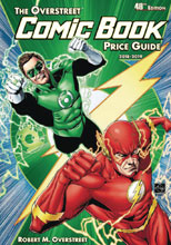 Image: Overstreet Comic Book Price Guide 48th Edition HC  (Flash / Green Lantern cover) - Gemstone Publishing