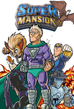 Image: Supermansion SC  - Titan Comics