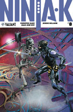 Image: Ninja-K #8 (cover C incentive - Interlocking Crain) (20-copy) - Valiant Entertainment LLC