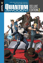 Image: Quantum & Woody Deluxe Edition Vol. 02 HC  - Valiant Entertainment LLC