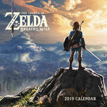 Image: Legend of Zelda: Breath of the Wild 2019 Wall Calendar  - Abrams