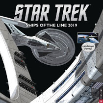 Image: Star Trek Ships of the Line 2019 Wall Calendar  - Universe Publishing