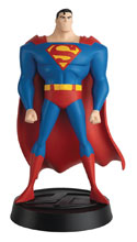Image: DC Super Hero Collection Figure: Justice League The Animated Series No. 1 - Superman  - Eaglemoss Publications Ltd
