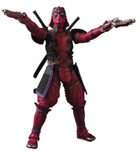 Image: Marvel Meisho Manga Realization Action Figure: Kabukimono Deadpool  - Tamashii Nations