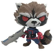 Image: POP! Guardians of the Galaxy Vinyl Figure: Rocket Racoon  (Comic Style) - Funko