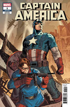 Image: Captain America #1 (variant cover - Ron Garney) - Marvel Comics