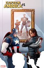 Image: Captain America #1 (variant cover - Paul Renaud) - Marvel Comics