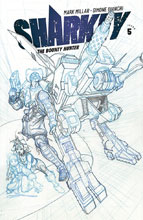 Image: Sharkey: Bounty Hunter #5 (cover B - Bianchi sketch) - Image Comics