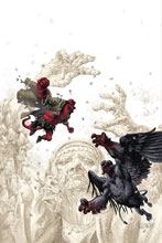 Image: Hellboy and B.P.R.D.: Beast of Vargu  (cover A - Fegredo) - Dark Horse Comics