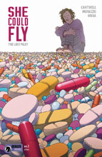 Image: She Could Fly: Lost Pilot #3 - Dark Horse Comics
