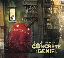 Image: Art of Concrete Genie HC  - Dark Horse Comics