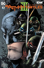Image: Batman / Teenage Mutant Ninja Turtles III #2 - DC Comics/IDW