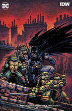 Image: Batman / Teenage Mutant Ninja Turtles III #2 (variant cover - Kevin Eastman) - DC Comics/IDW