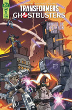 Image: Transformers / Ghostbusters #1 (cover A - Schoening)  [2019] - IDW Publishing