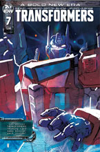Image: Transformers #7 (cover A - Ward) - IDW Publishing