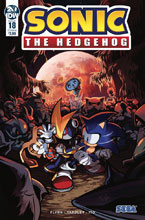 Image: Sonic the Hedgehog #18 (cover B - Skelly) - IDW Publishing