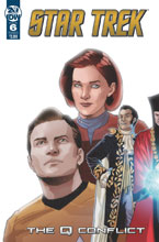 Image: Star Trek: Q Conflict #6 (cover A - Messina) - IDW Publishing