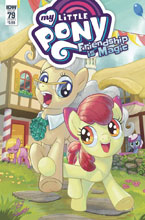 Image: My Little Pony: Friendship Is Magic #79 (cover A - Kuusisto) - IDW Publishing