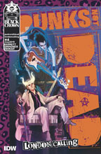 Image: Punks Not Dead: London Calling #5 (cover A - Simmonds) - IDW Publishing