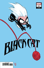 Image: Black Cat #1 (variant cover - Young) - Marvel Comics
