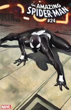 Image: Amazing Spider-Man #24 (variant Spider-Man Symbiote Suit cover - Olivier Coipel) - Marvel Comics