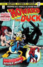 Image: Howard the Duck #1 (Facsimile edition) - Marvel Comics