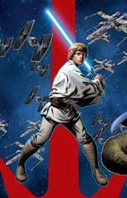 Image: Star Wars: Age of Rebellion - Luke Skywalker #1 (variant Puzzle-Piece cover - McKone) - Marvel Comics
