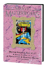 Image: Marvel Masterworks Doctor Strange Vol. 09 HC  (variant DM cover) (282) - Marvel Comics