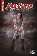 Image: Red Sonja: Birth of the She-Devil #1 (cover C - Cosplay) - Dynamite