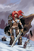 Image: Red Sonja: Birth of the She-Devil #1 (incentive cover - Davila virgin) (10-copy) - Dynamite