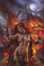 Image: Red Sonja: Birth of the She-Devil #1 (variant cover - Parrillo virgin) - Dynamite
