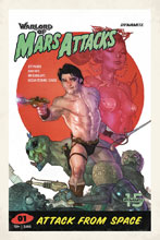 Image: Warlord of Mars Attacks #1 (cover D - Caldwell) - Dynamite