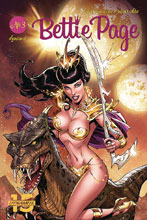 Image: Bettie Page: Unbound #3 (cover A - Royle) - Dynamite
