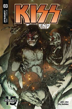 Image: Kiss End #3 (cover A - Sayger) - Dynamite